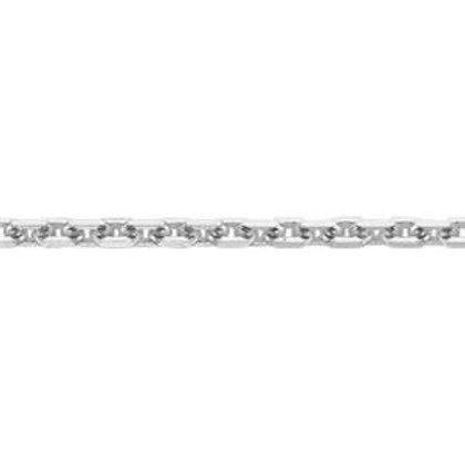 1.1mm Diamond Cut Forzantina Flat Cable Chain