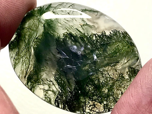 Loose Green Moss Agate #056