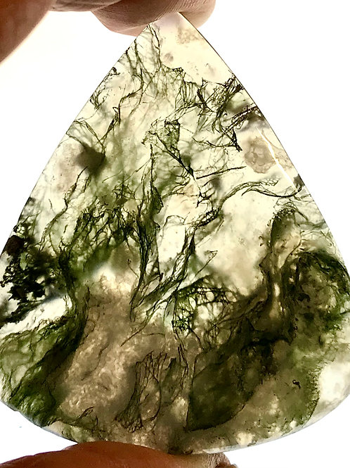 Loose Green Moss Agate #2295