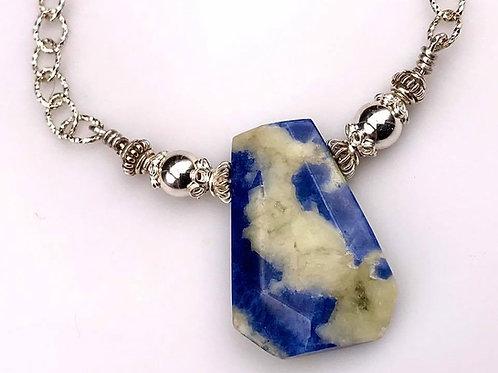 Denim Sodalite necklace