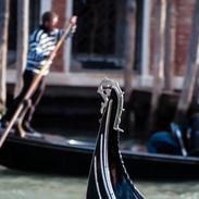 The Gondolier - Venice, Italy
