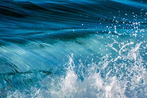 Waves, The Ocean's Pulse - Newport Beach, California