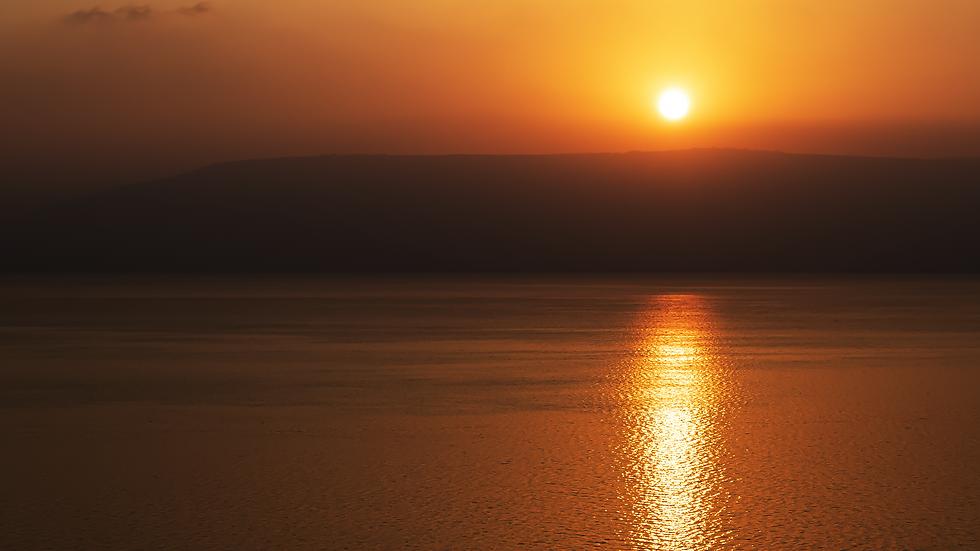 Speechless - Sunrise on the Sea of Galilee, Israel