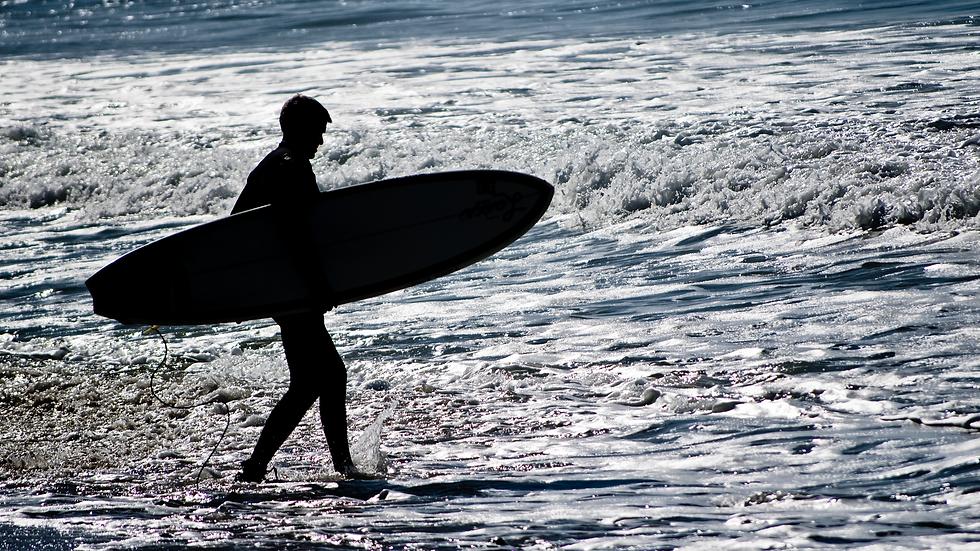 Alone Time With God - Laguna Beach, California