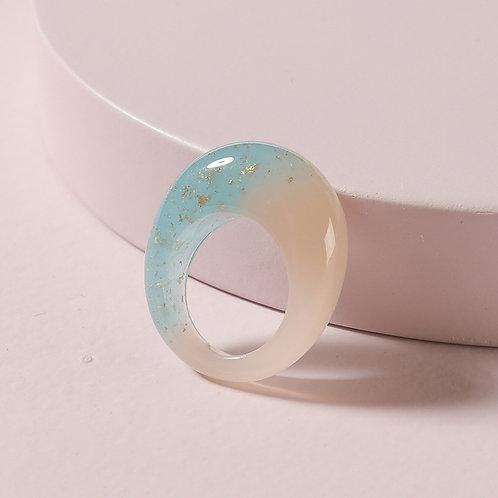 Blue Lagoon Acrylic Ring