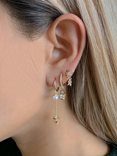 Cupcake Earring Set