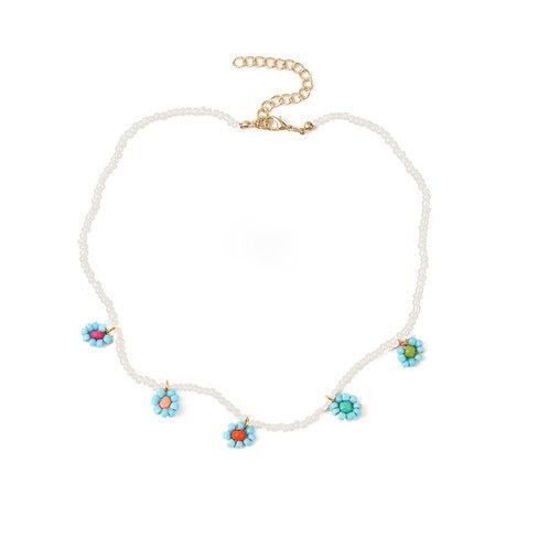 La Flor Azul Necklace