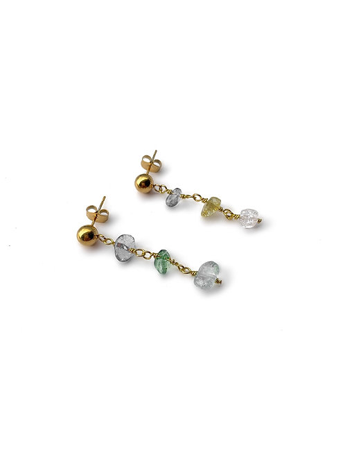 Irregular Stone Earrings