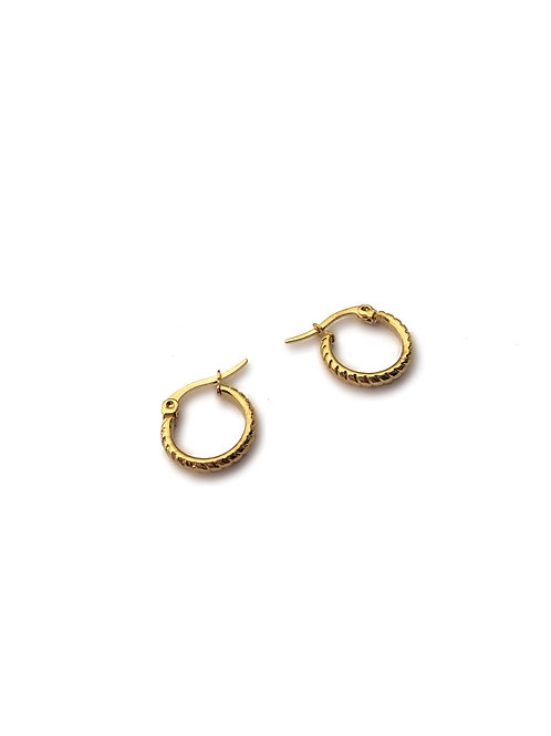 Antique Small Hoops