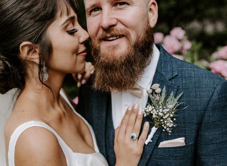 Emotional Woodland Wedding | Sian & Kjell Barn Wedding near London, Kent Barn