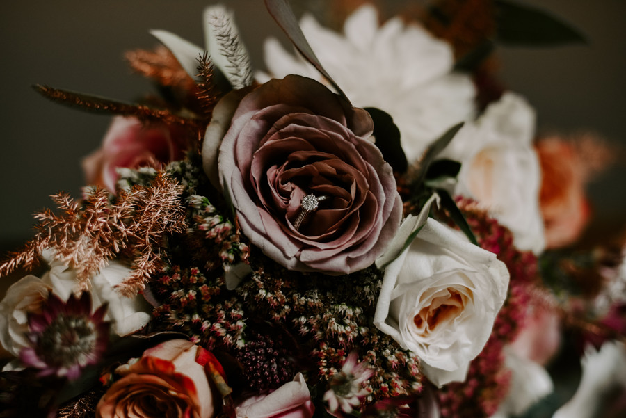 Autumn wedding at The Oak Tree of Peover