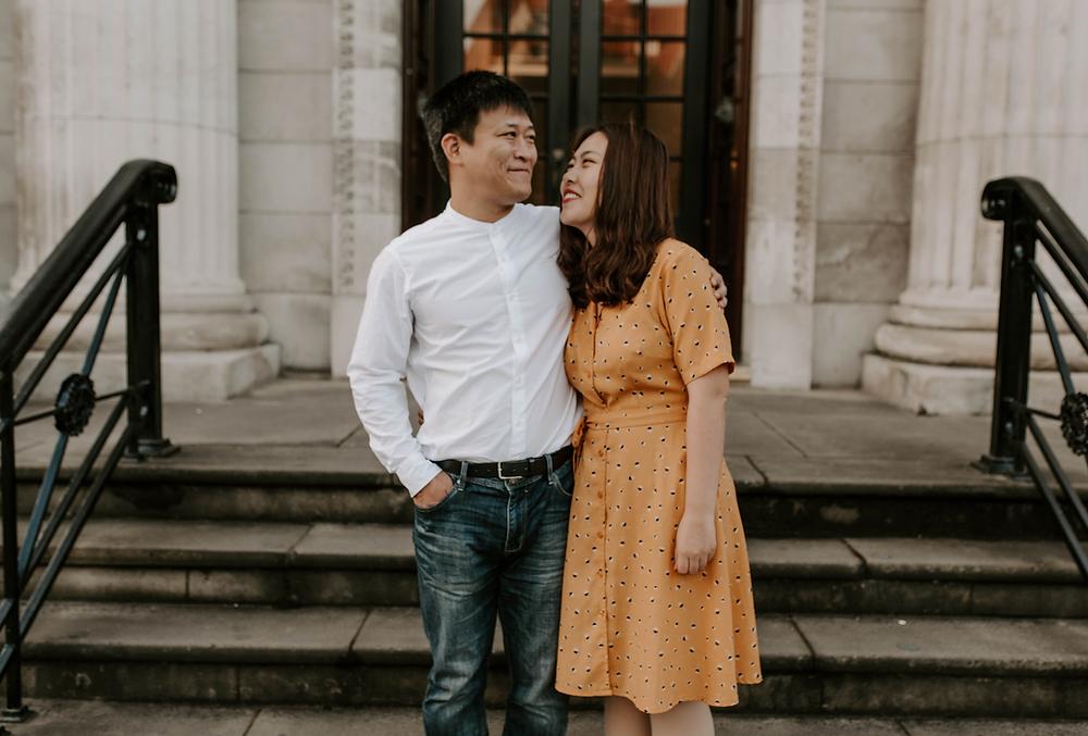 Manchester Couple Photographer - Manchester University Photoshoot