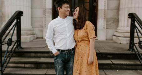 Couple Photography at Manchester University   Engagement photoshoot & Pre-Wedding Photographer