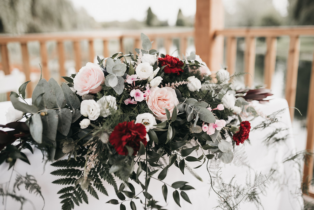 details - wedding flowers