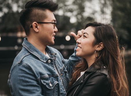 Pre-Wedding Couple Session in Castlefield, Manchester | Hazel & Loo
