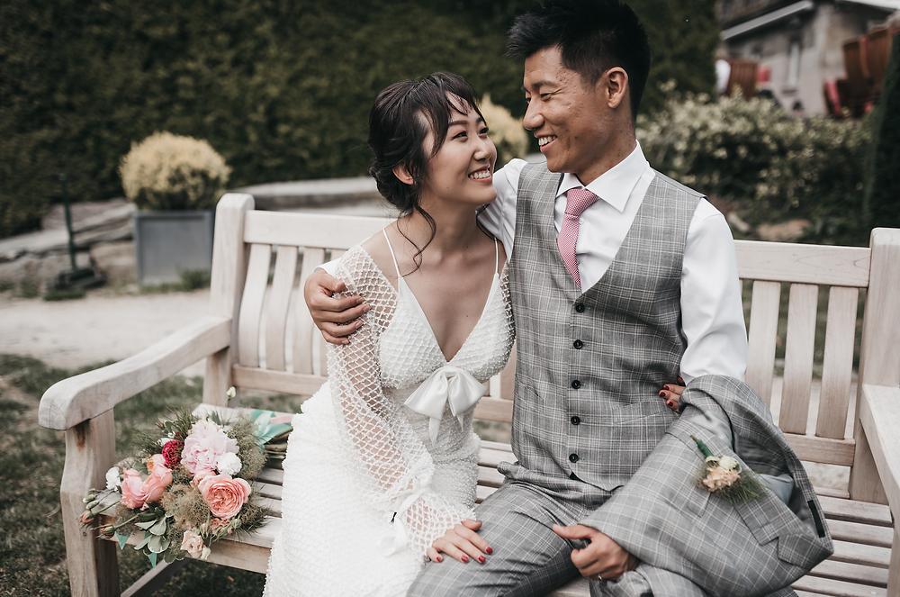 Wedding photographer - Schlosshotel Kronberg wedding day - elopement in Germany