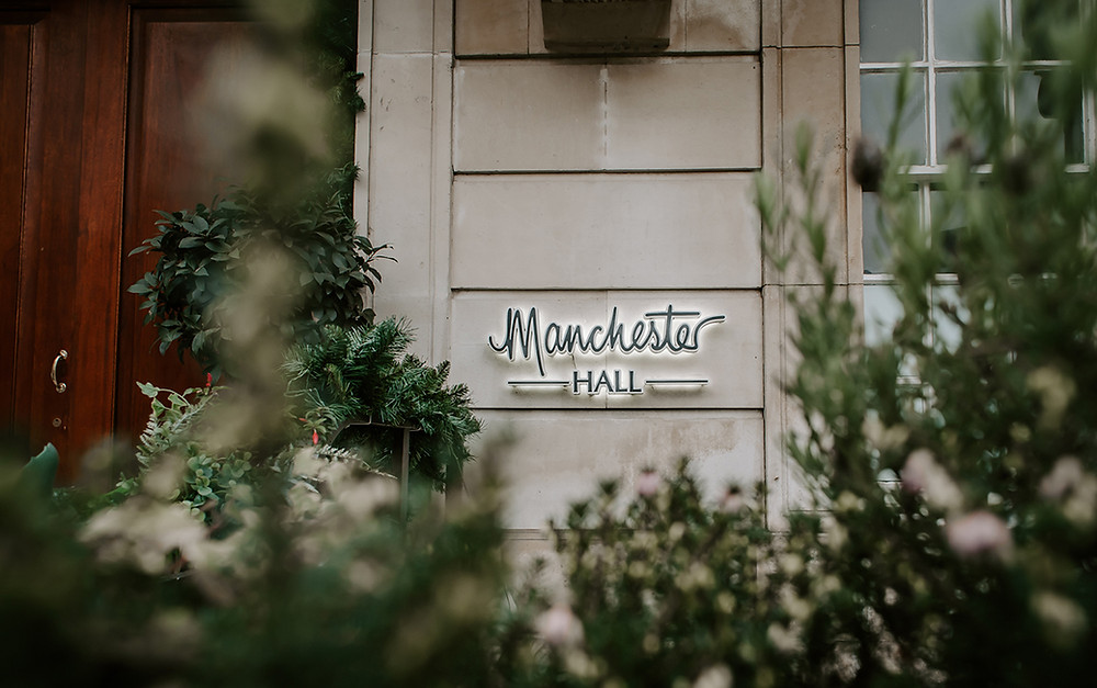 Manchester Hall Urban Wedding Venue