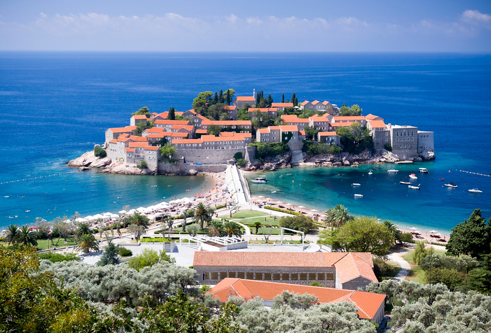 luxury wedding venue in montenegro
