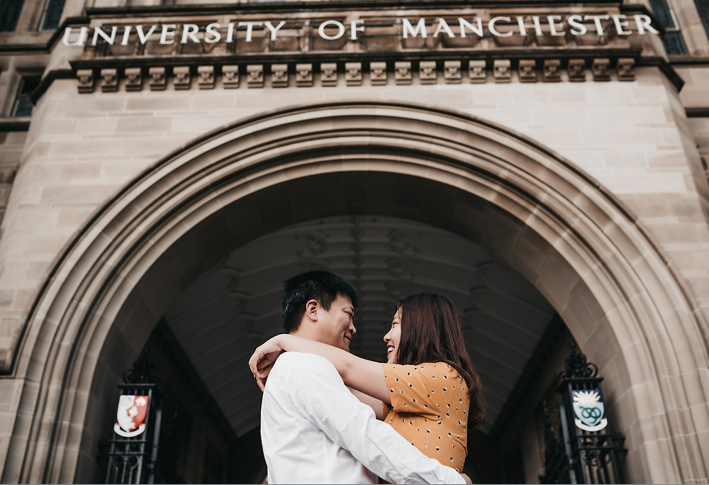 Manchester University Couple Photography | Best Engagement photographer in UK