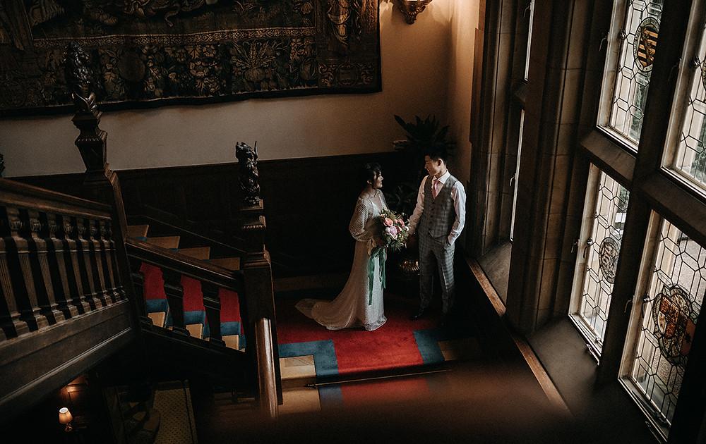 schloss hotel castle wedding kronberg germany- destination wedding photography