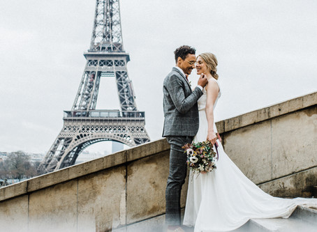 Elopement in Paris | Wedding photography | Destination wedding photographer |  Manchester