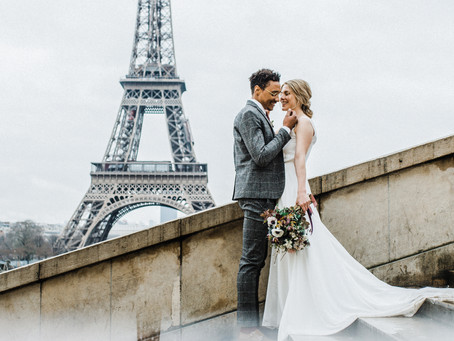 Elopement in Paris | Wedding photography | Destination wedding photographer |  Manchester