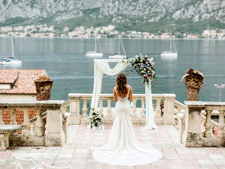Best Places To Get Married In Montenegro | Wedding Villas | Wedding Photography