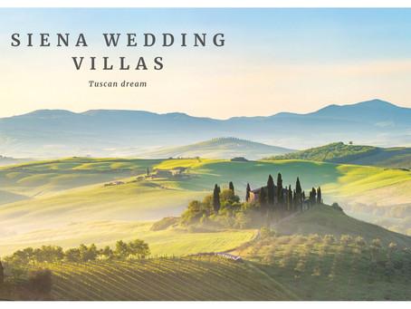 Top Siena Wedding Villas & Tuscany Wedding Venues | Siena Wedding Photographer & Tuscany Photography