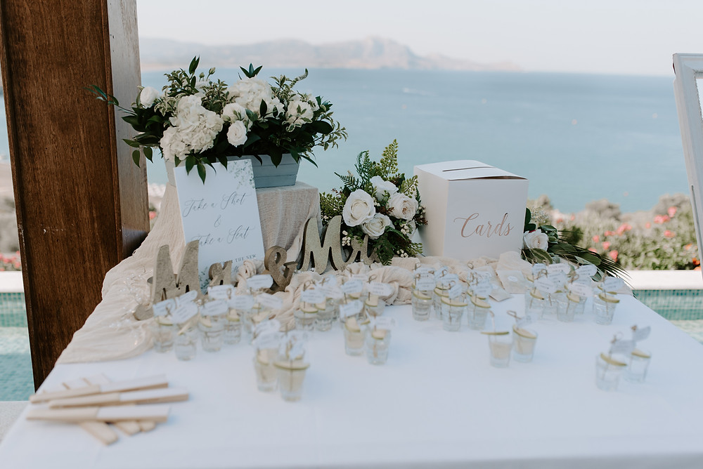 inredible destination wedding at Ktima Lindos