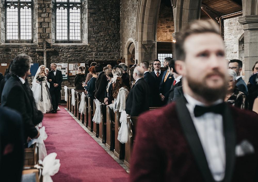 church ceremony wedding