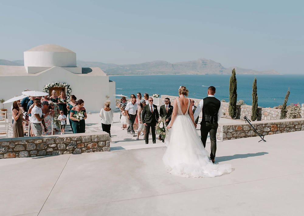 Ktima Lindos wedding photographer & film