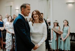Wedding ceremony in York