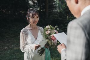 Outdoor wedding at schloss hotel kronberg