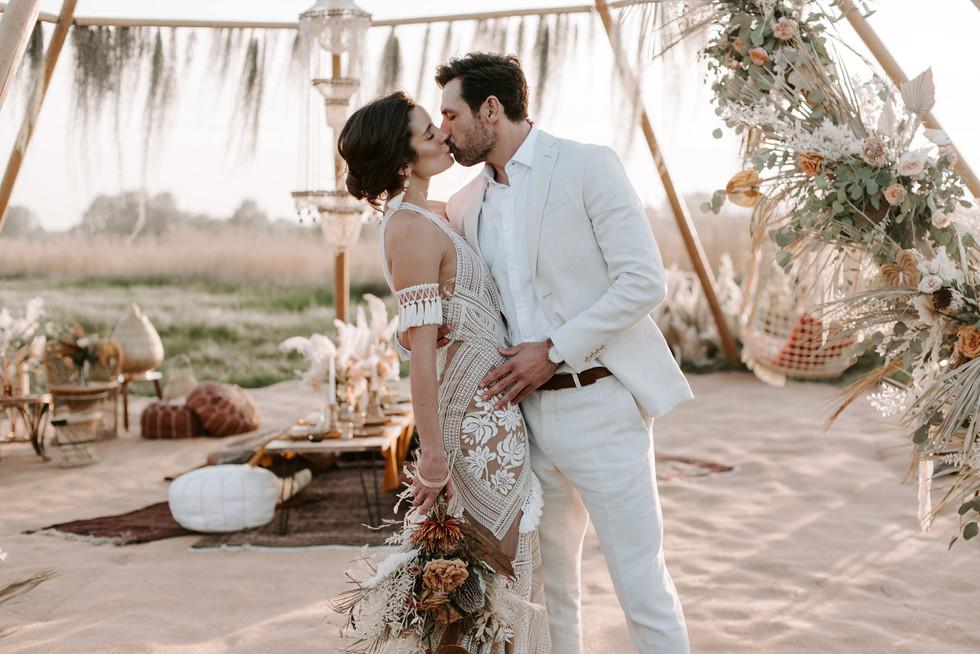 Boho Style Wedding Photographer In Manch
