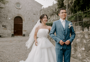 monteverdi wedding - first look