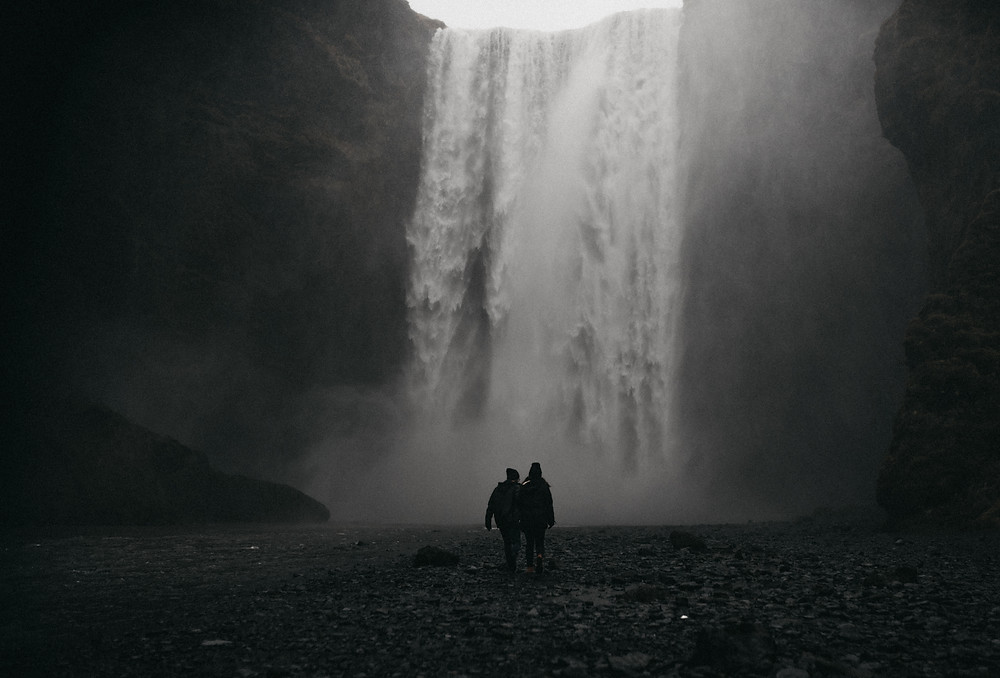 Destination Engagement Shoot In Iceland