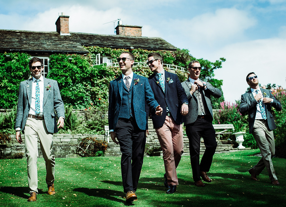 Manchester Wedding Photography Hilltop Country House Cheshire