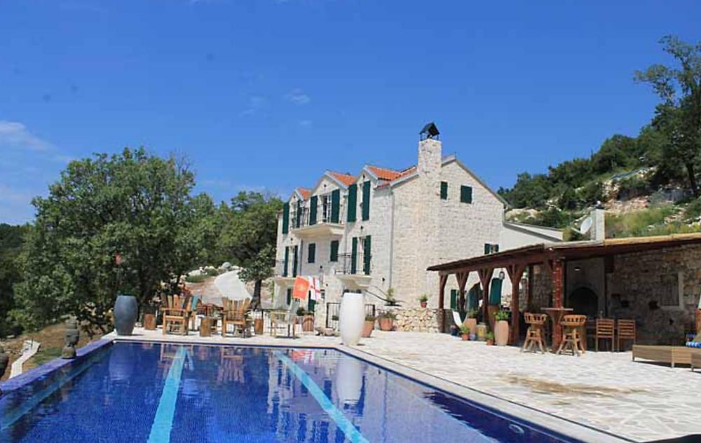 Beautiful traditional montenegro wedding villa in budva