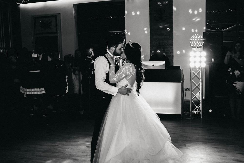 First dance photography wootton park