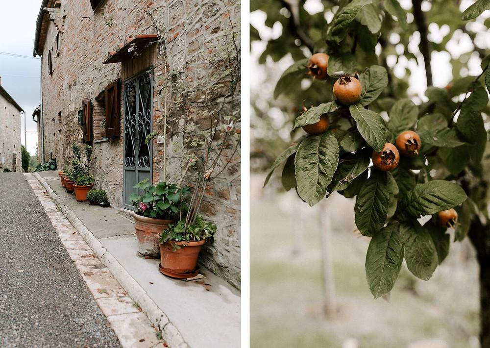 tuscany monteverdi little town