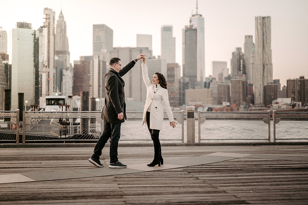 brooklyn engagement session - urban photo lab