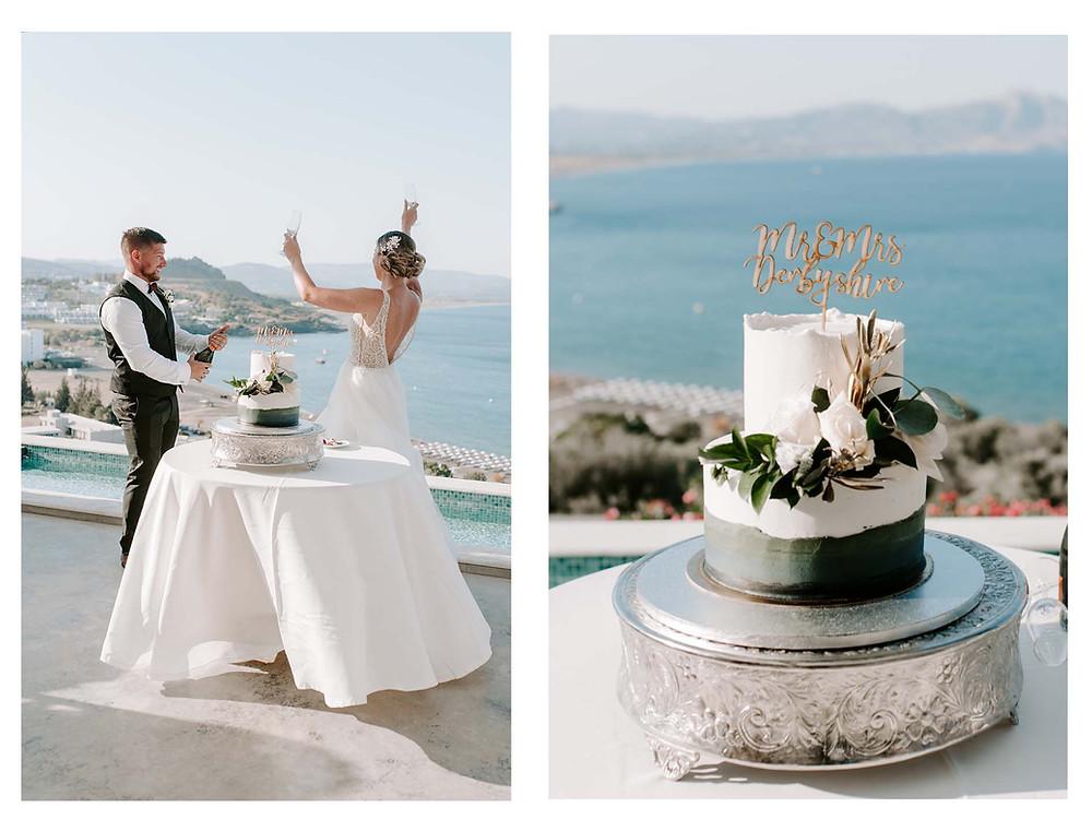 Greece wedding photographer based in UK