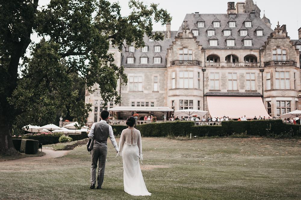 Incredible castle wedding at Schlosshotel Kronberg, Germany  - destination elopement photographer