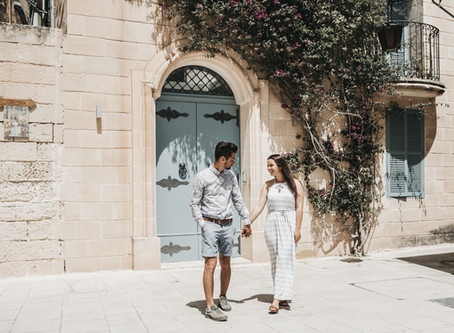 Photosession in Malta,Mdina | Engagement Photography | Uk wedding Photographer | Destination wedding