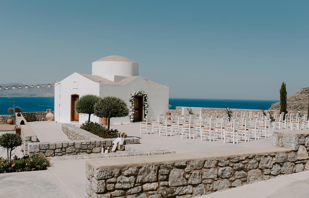 Ktima Lindos wedding venue in Rhodes