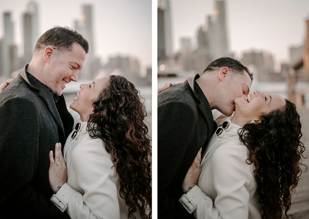 couple photography in new york, dumbo