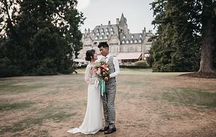 Elopement wedding at Schloss Hotel Kronb