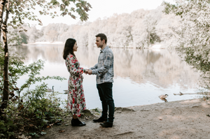 Summer engagement session in manchester Heaton Park pre-wedding  photography
