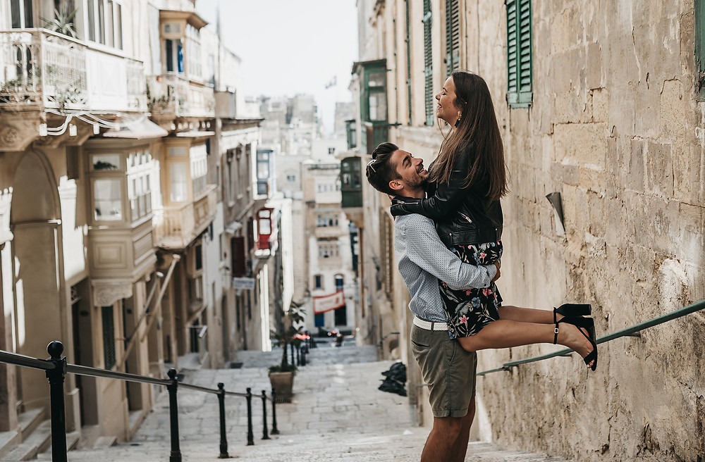 Destination Wedding Photography In Malta