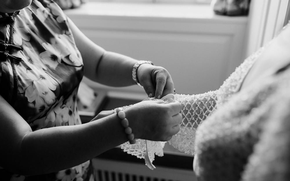 Schloss wedding preparations